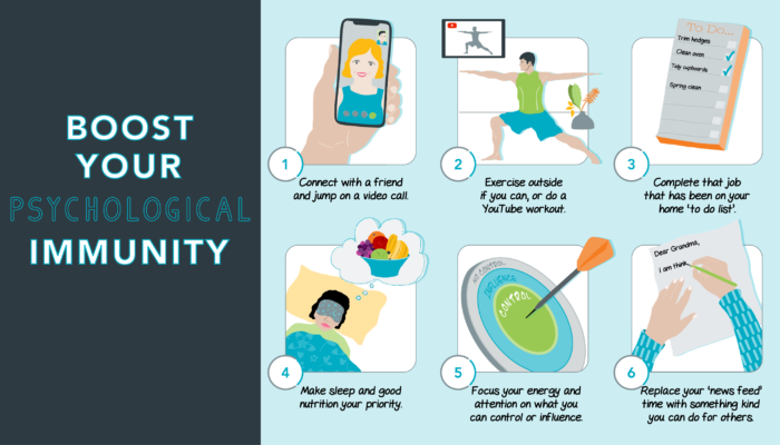 Boost your psychological immunity
